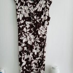 [LAUREN] Ralph Lauren Wrap Dress